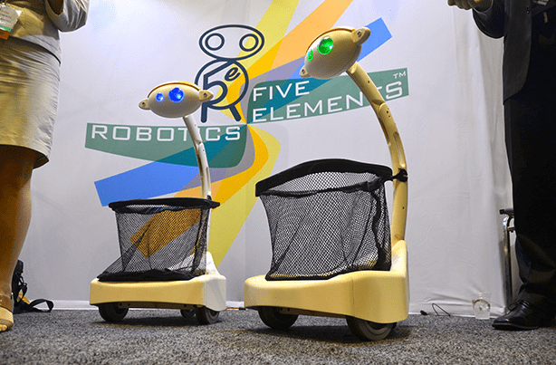 RoboBusiness 2013: Новый Робот-носильщик Budgee