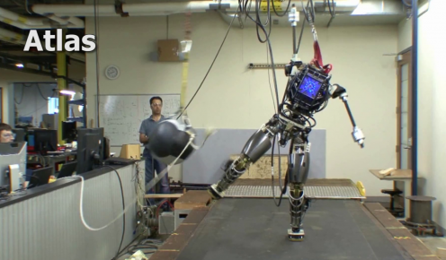 Теперь уже точно! Гуманоид DARPA's ATLAS может официально заменить человечество