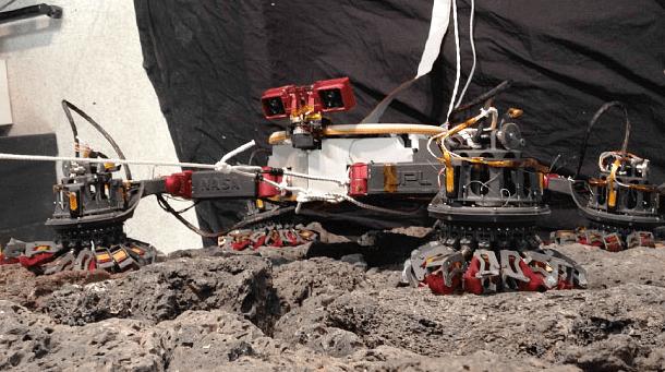Lemur IIB – первый в мире робот –скалолаз!