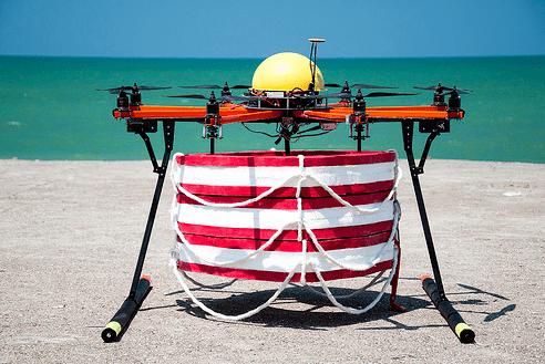 Испытания прототипа робота-спасателя.