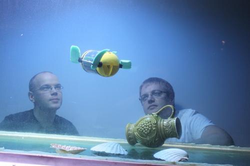 Робот черепаха поможет подводным археологам осматривать затонувшие корабли