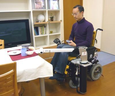 Манипулятор для инвалидов RAPUDA