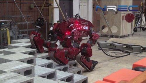 Робот-обезьяна CHIMP будет участвовать в DARPA Robotics Challenge