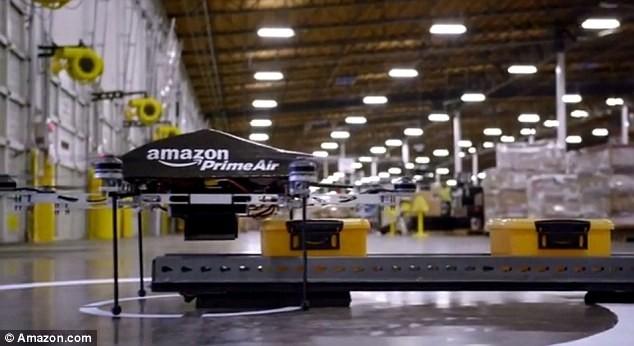 Компания Amazon будет отправлять посылки дронами! (ФОТО)