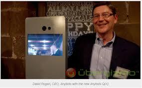 Новый монолитный робот телеприсутствия от Anybots