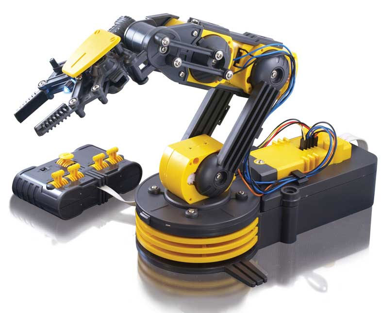 Выбираем роботов в подарок на Новый Год! Роботизированная рука OWI-535