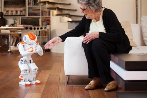 Роботы уже открывают двери перед нуждающимися!