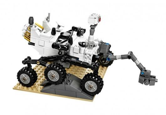 Марсоход Curiosity теперь доступен и на Земле, в форме конструктора от Lego!