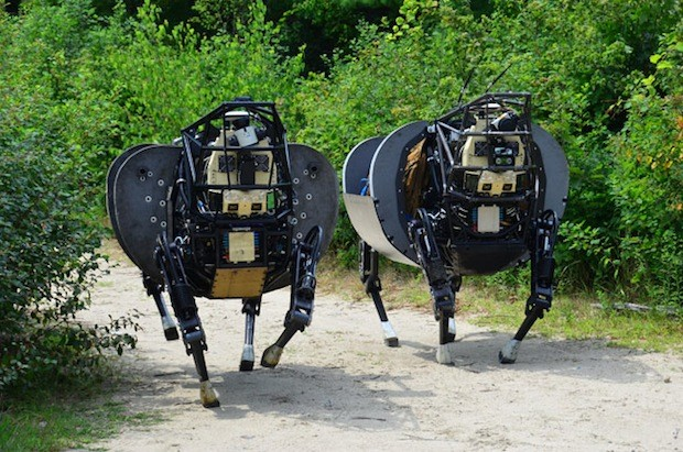 "Boston Dynamics разрабатывает ""роботов мулов"" LS3."