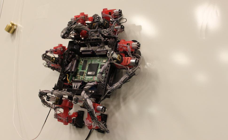 Робот с ногами ящерицы будет ремонтировать космические корабли!