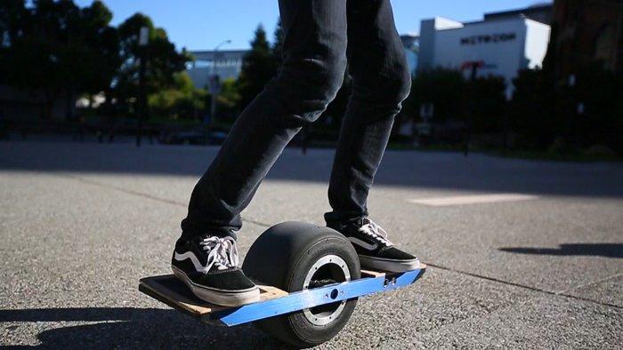 Новый одноколесный скейт