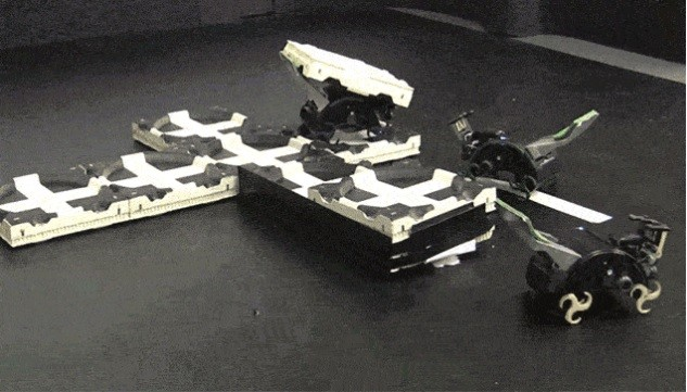Автономные роботы строят «структуры» посредством коллективного разума