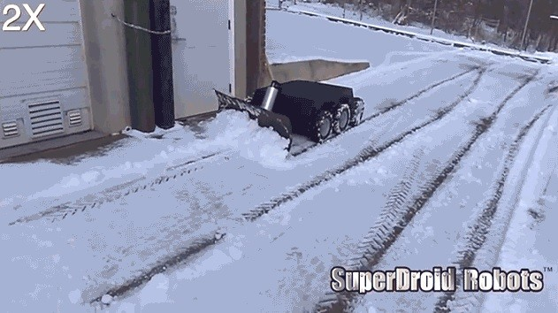 уборщик снега