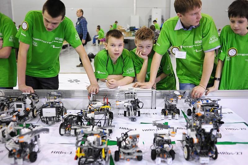Российский Фестиваль роботов 2014