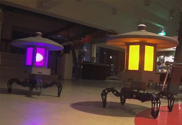 Роботы светильники – прекрасное дополнение к Вашему саду!