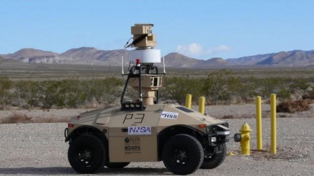 Автономные патрульные автомобили следят за  Американскими ядерными арсеналами