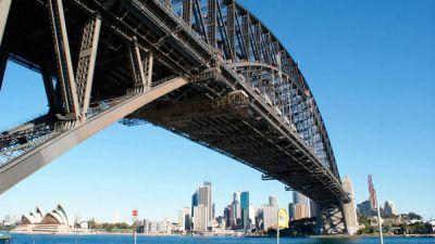 Гаваньский мост в Сиднее ремонтируется роботами