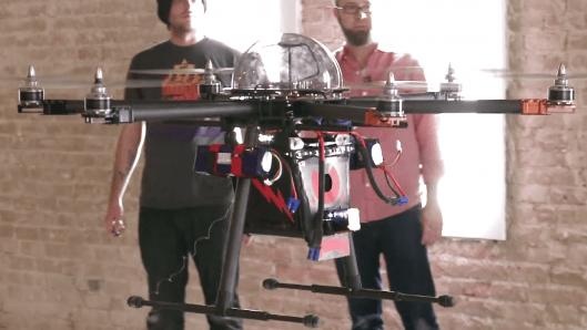 CUPID – летающий дрон с встроенным электрошокером в  80,000 вольт