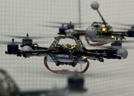 Летающие роботы-строители  – техника будущего!