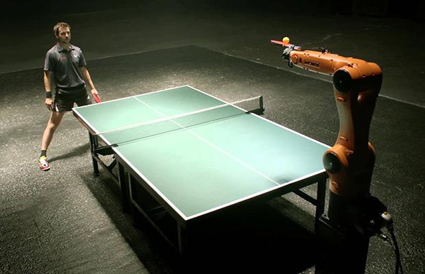 Робот играет в пинг-понг: что реально, а что нет?