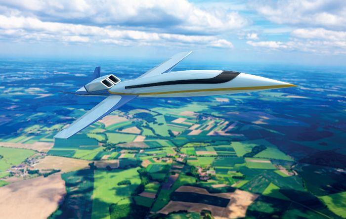 Пассажирский сверхзвуковой самолет Spike S-512