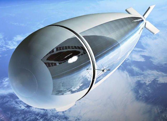 StratoBus – беспилотный дирижабль в стратосфере