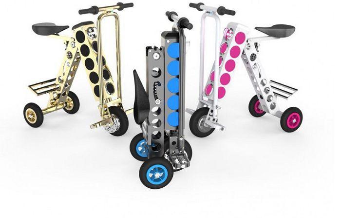 URB-E – самый маленький и удобный электронный скутер