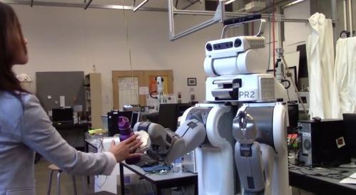 Наладить связь с роботами