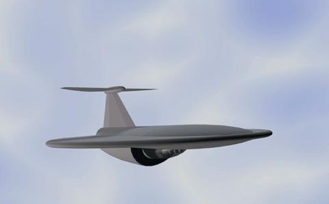Концепция самолета с возможностями неподвижного крыла