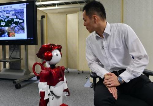 Hitachi представляет робота, который умеет шутить