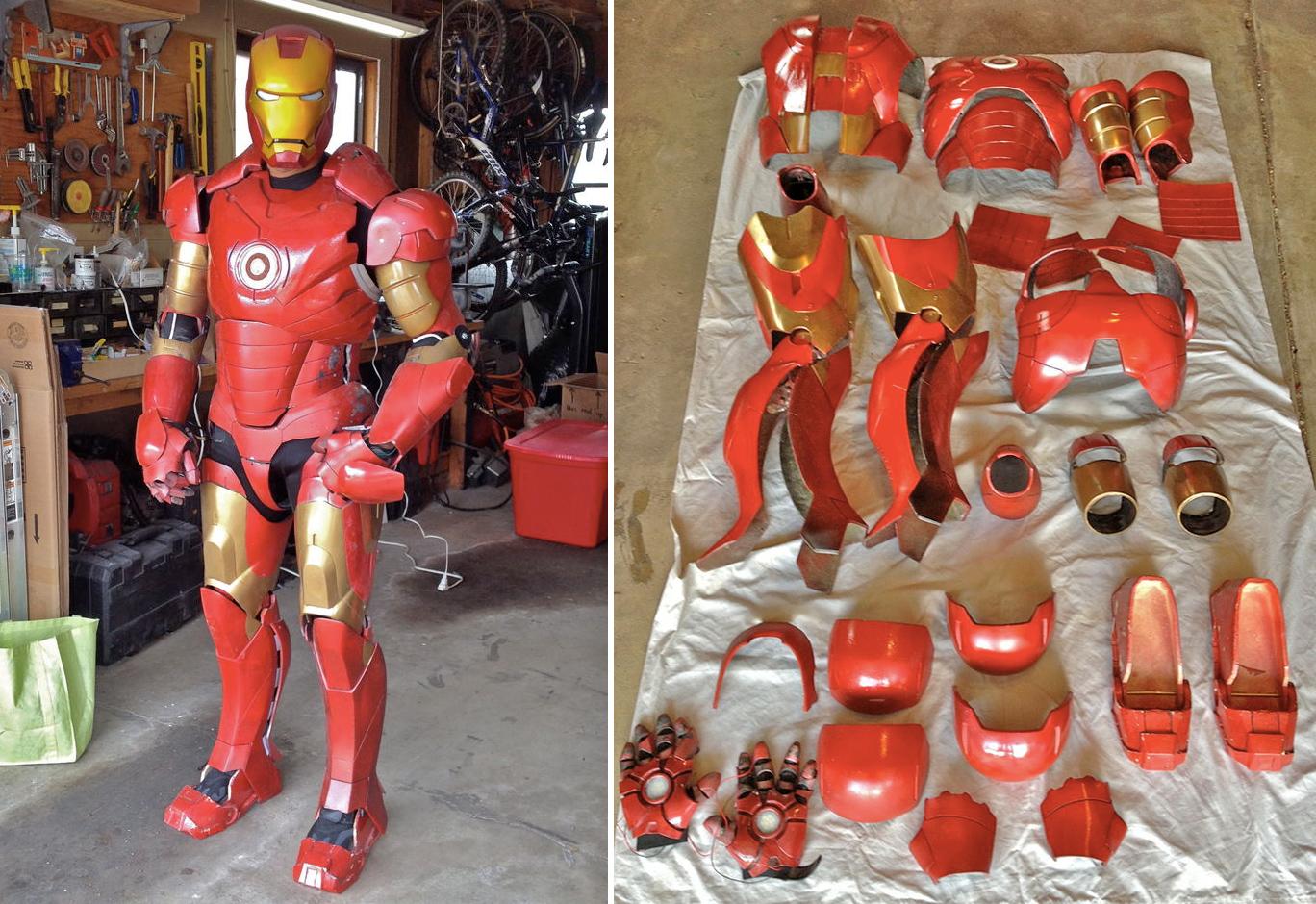 Лучший любительский костюм Железного Человека