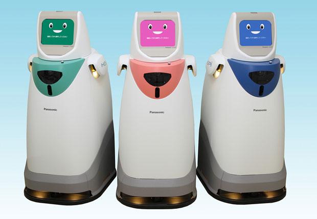 Panasonic восстанавливает больничных роботов для доставки