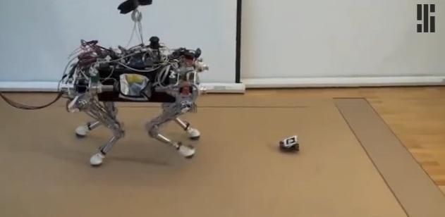 Крошечный «робот проводник» поможет отыскать самый безопасный путь для более крупного робота.