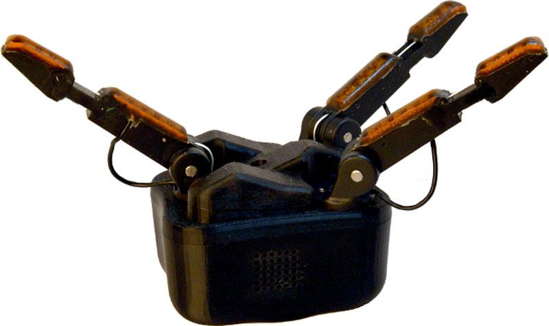 Новая роботизированная рука, с электроникой от OSRF и поддержкой от ROS