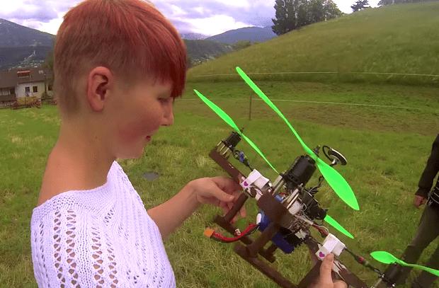 Воскресный видео отчет про роботов!