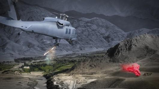 Роботизированная система – скрытая огневая мощь для вертолетов