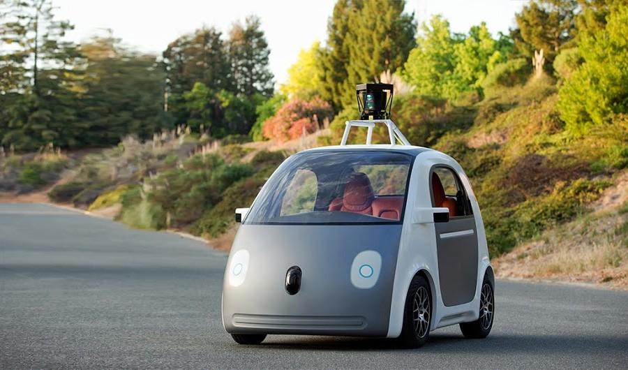 Авто от компании Google  без водителя!