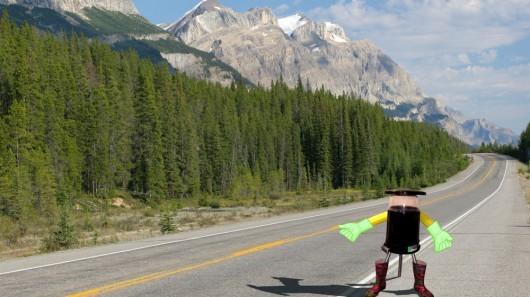HitchBOT – робот, который проедет автостопом по всей Канаде