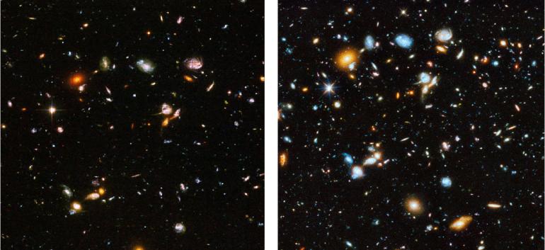 Всеобъемлющий снимок вселенной с помощью Hubble