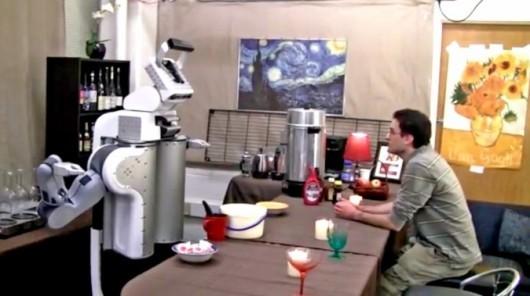 «Поговори со мной Дэйв» робот учится, когда люди разговаривают с ним.