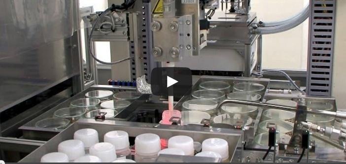 Роботизированная система тестирует воду на бактерии, в том числе кишечную палочку.