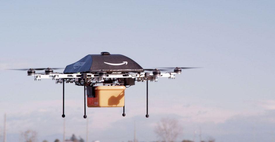 Amazon запрашивает разрешение на тестирование дронов у Федерального Авиационного Агентства