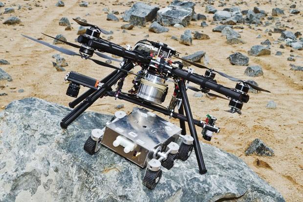 Сможет ли «дрон»  привести в действие «ровера» на Марсе?
