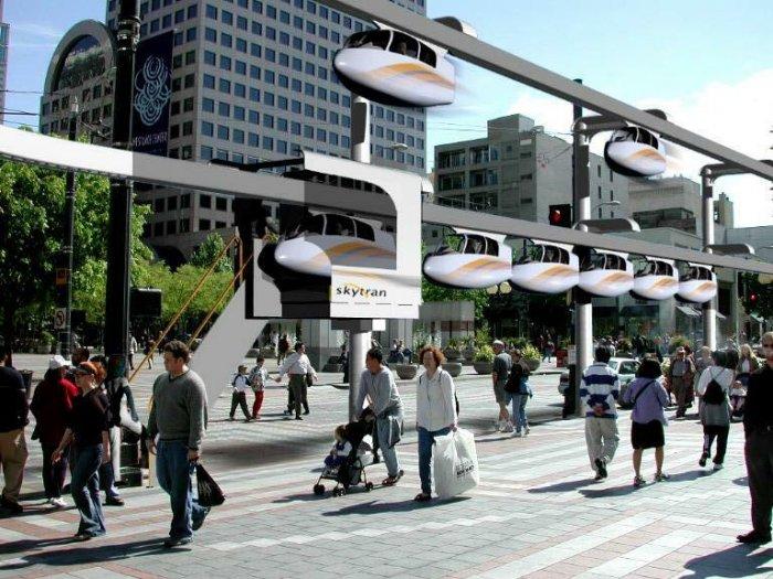 SkyTran новое такси