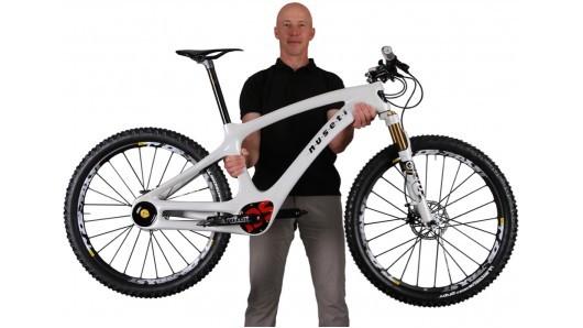 Велосипед от Nuseti с новой трансмиссией