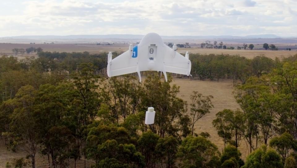 Google планирует доставлять товары летающими дронами!