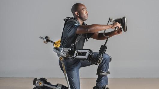 Военно-морские силы США тестируют экзоскелет Fortis