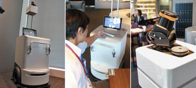 Робот-принтер преподносит документы непосредственно вам!