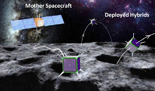 НАСА спонсирует роботизированные блоки для космических исследований