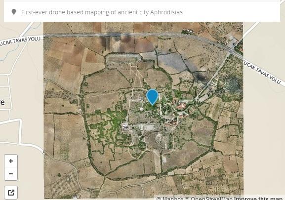 дрон карта